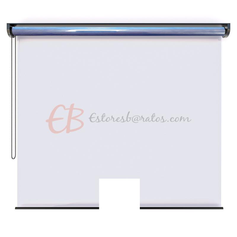 pantalla transparente protectora enrollable anticontagio