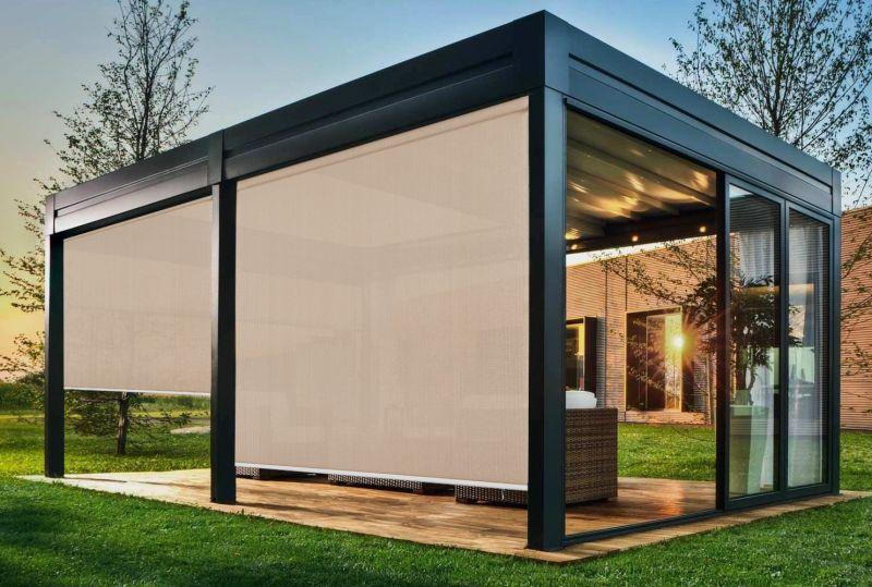 Toldo vertical exterior screen 3500 Lino 5% T S30 02