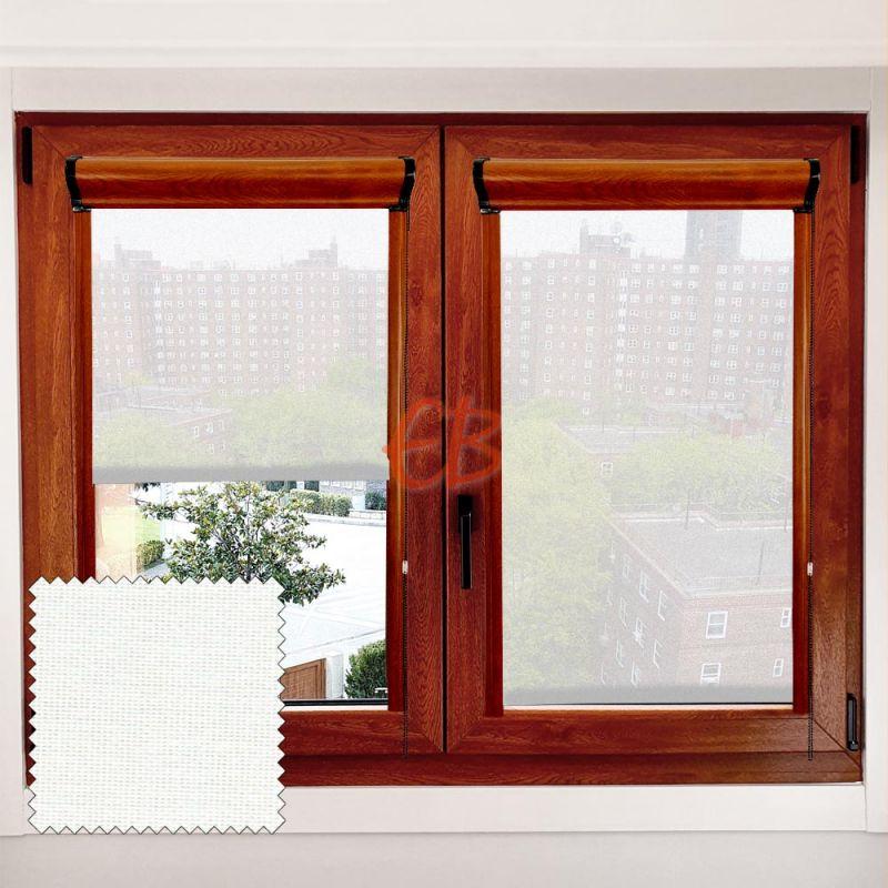 Estor marco ventana Minibox Blanco/Crudo MM00