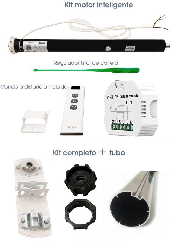 kit motor inteligente  relé wifi + mando