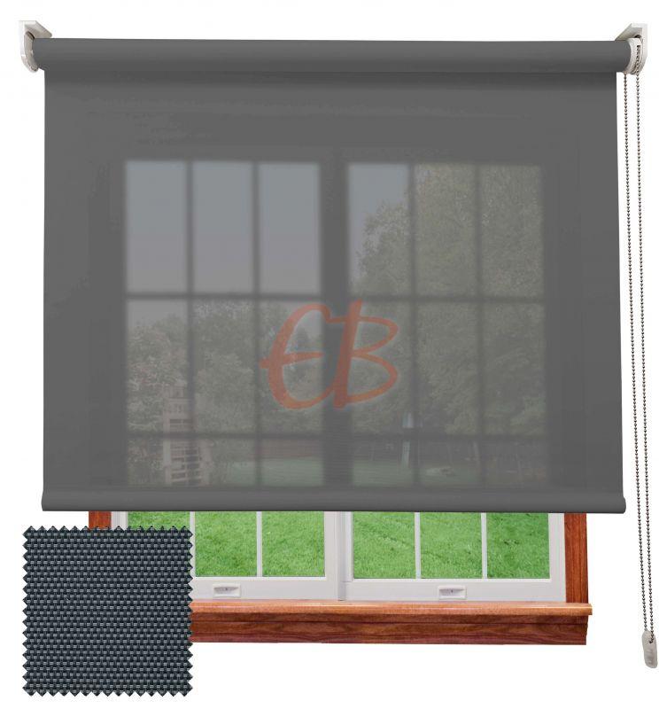 Estor screen visibilidad alta 10% Antracita gris 9007