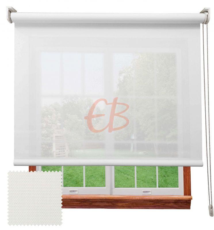 Estor screen visibilidad alta 10% Blanco 9001