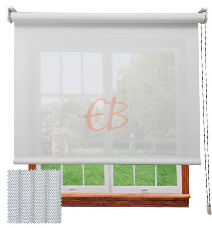 Estor screen visibilidad alta 10% Blanco perla 9004