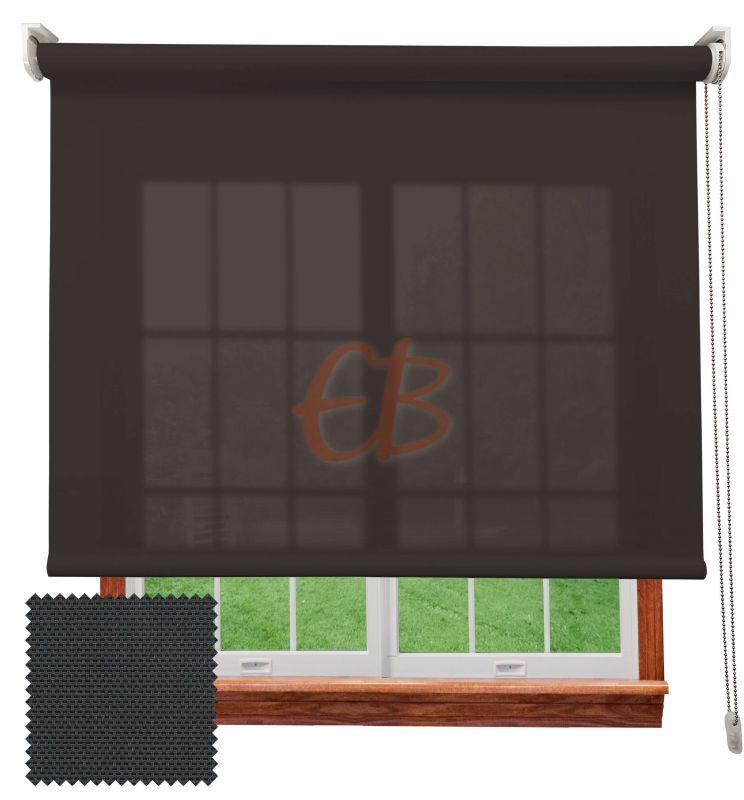 Estor enrollable screen 3500 visibilidad baja 3% Antracita Bronce 8308