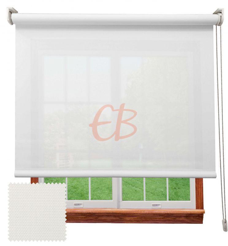 Estor enrollable screen 3500 visibilidad baja 3% Blanco 8301