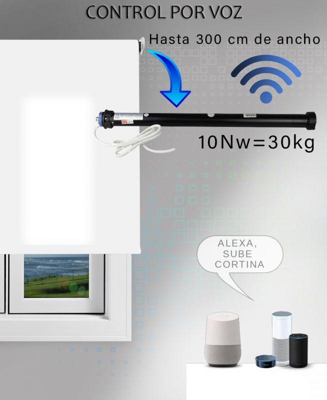 motor wifi para estores grandes