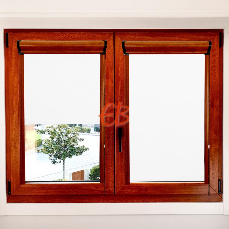 Enrollable marco ventana opaco Blanco 00
