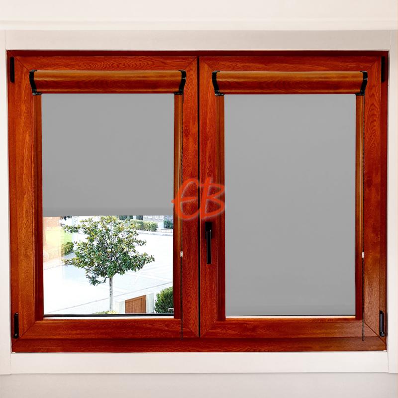 Enrollable marco ventana opaco Gris Claro 11