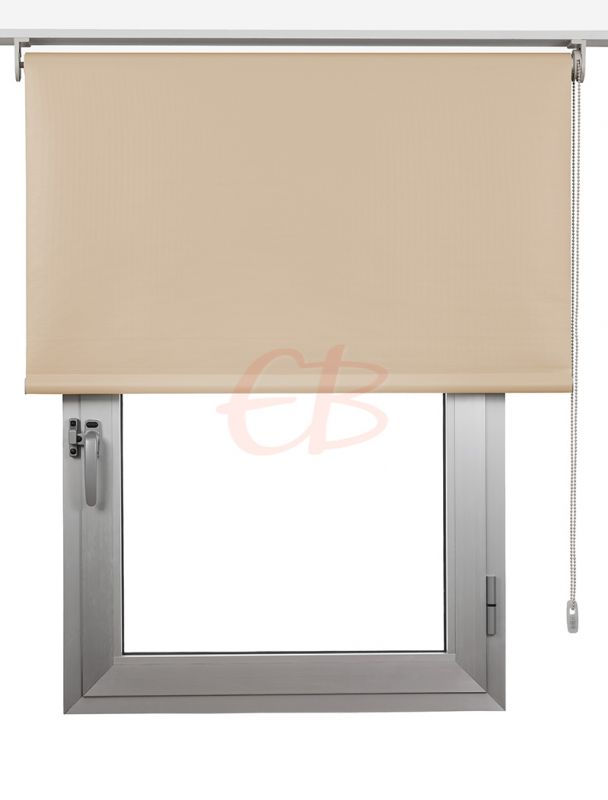 Estor enrollables Opaco Fibra de Vidrio Beige DK 01