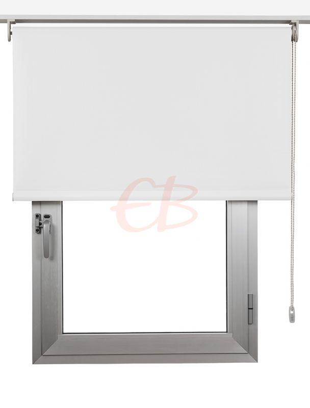 Estor enrollables Opaco Fibra de Vidrio Blanco DK 00