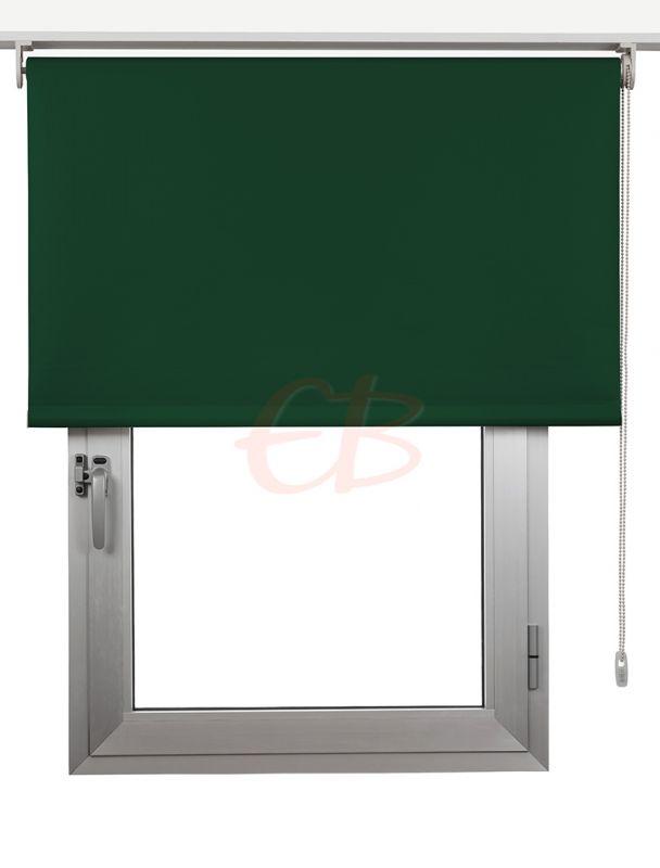 Estor enrollables Opaco Fibra de Vidrio Verde inglés DK 09