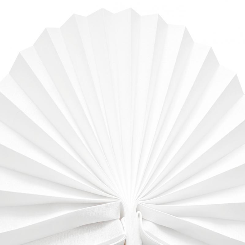 Estores plisados traslúcidos Blanco nuclear B-1220