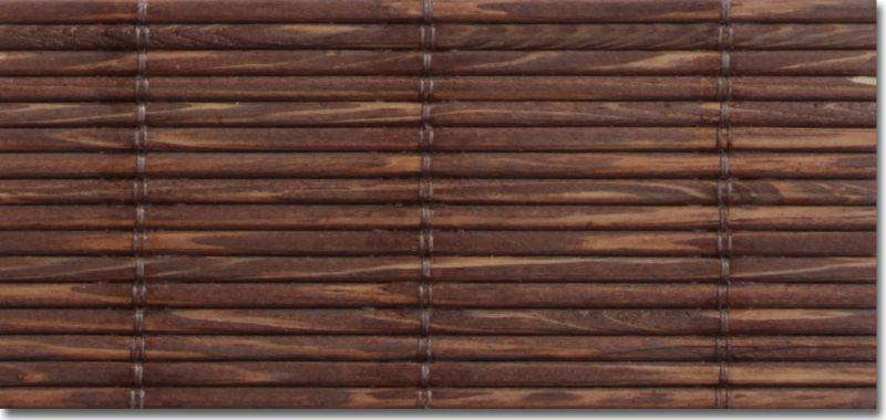 Persiana de esterilla de madera a medida - Persianas enrollables de madera ...
