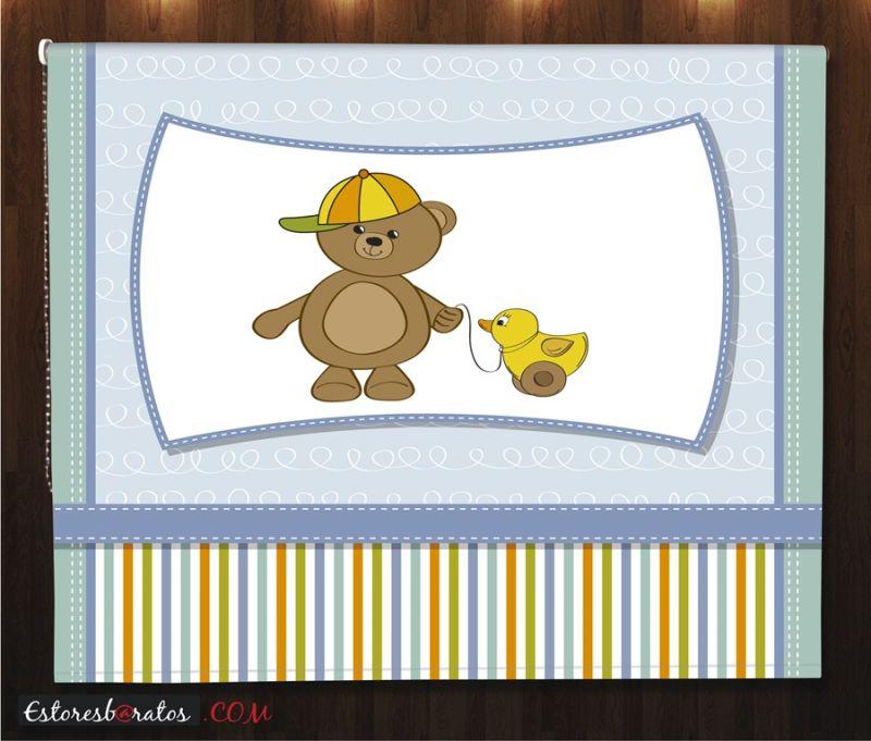 Estores bebe estores para habitaci n bebe teddy bear - Estores para bebes ...
