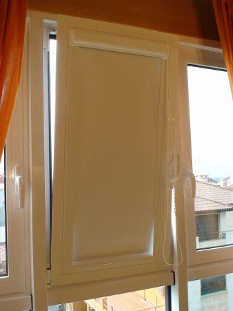 Enrollables para marco de ventana