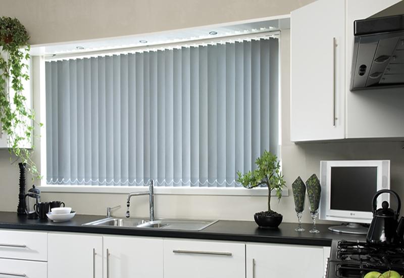 cortina vertical cocina