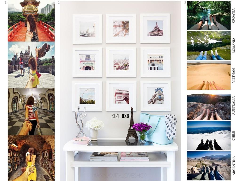 paredes con fotos