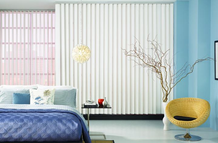 cortina vertical habitacion