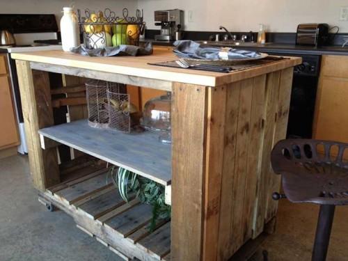 mesa central cocina