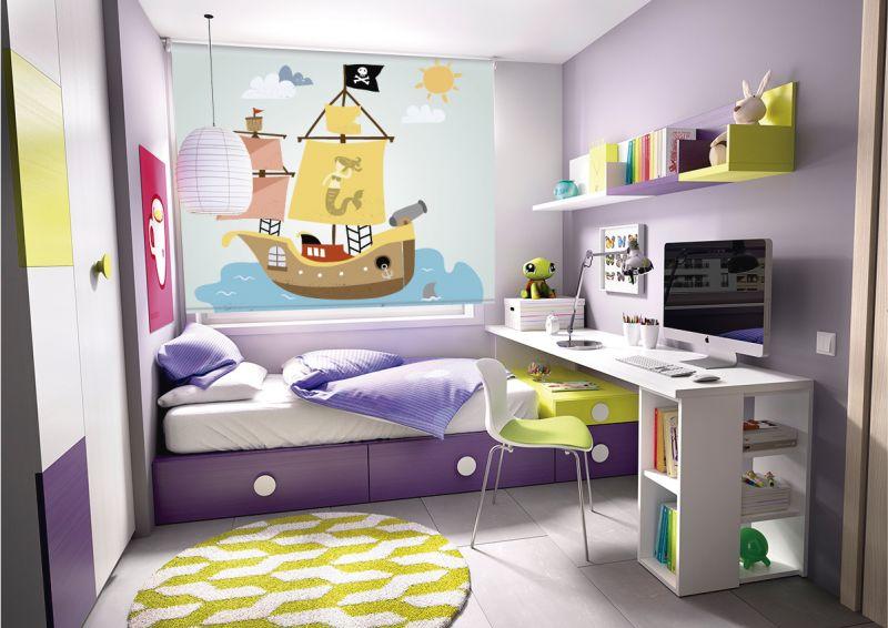 estores infantiles piratas
