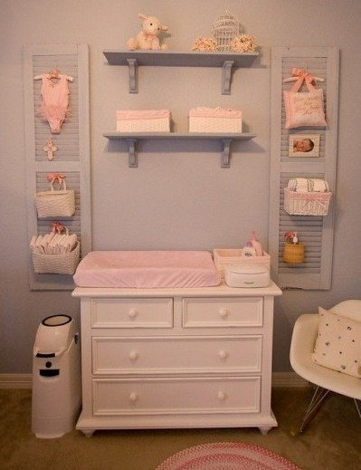 colgadores habitación bebé