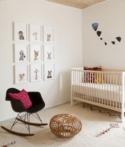 habitación bebé sencilla
