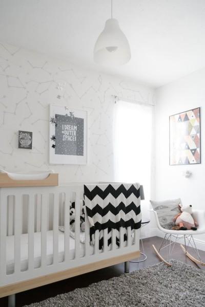 bebé bedroom