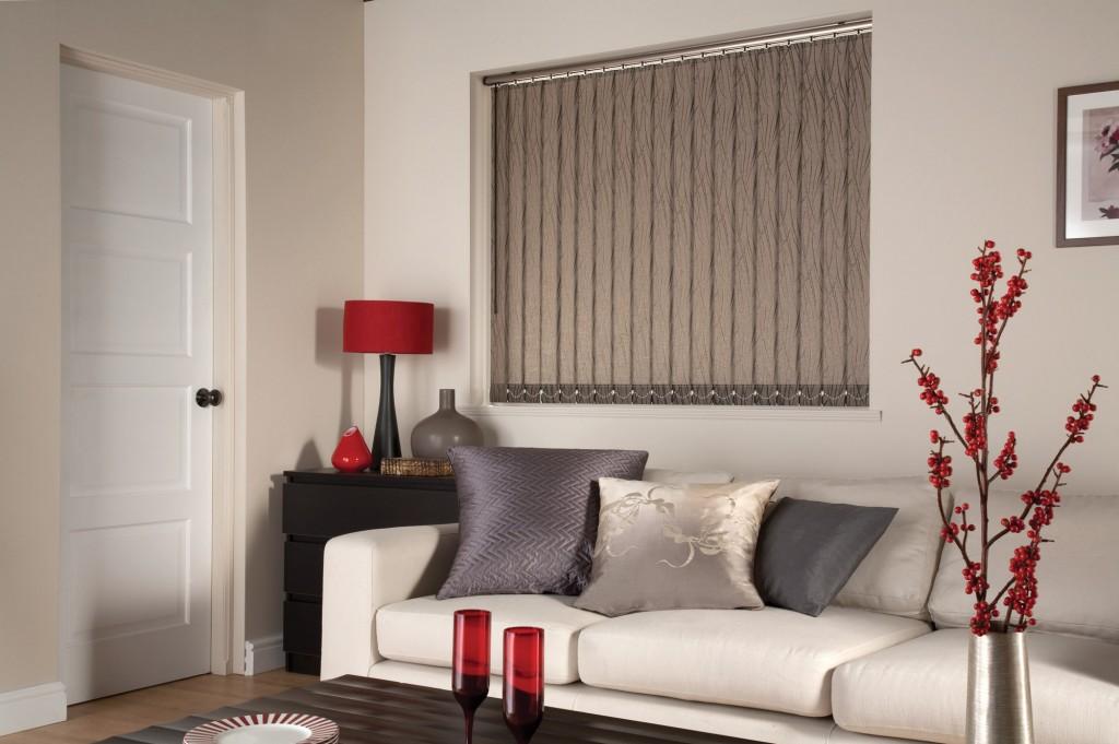 cortina vertical salon