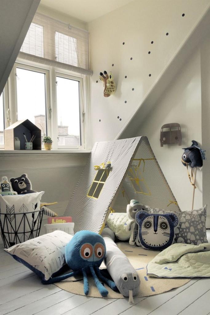 habitación infantil animales
