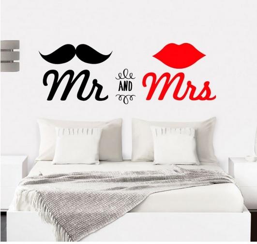 vinilo cama matrimonio
