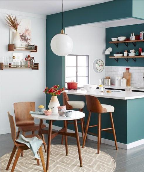 cocina colores pared