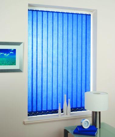 cortina efecto lino vertical