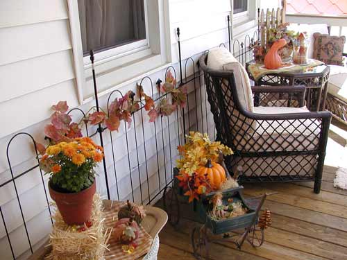 decoracion colores de otoño
