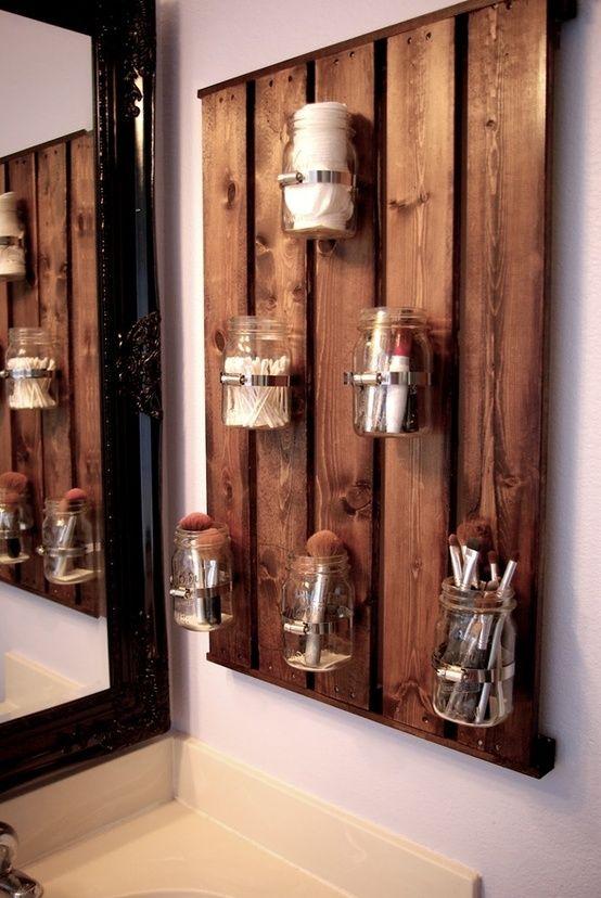 tarros de cristal estantes