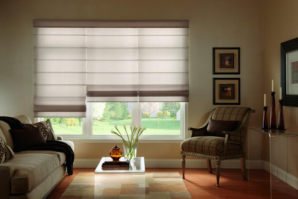 cortinas plegables con varillas