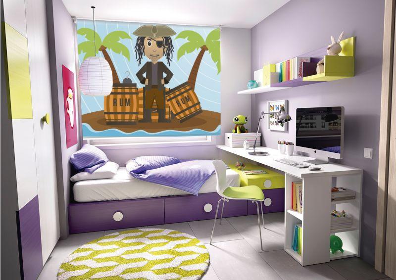 cortinas para habitaciones infantiles