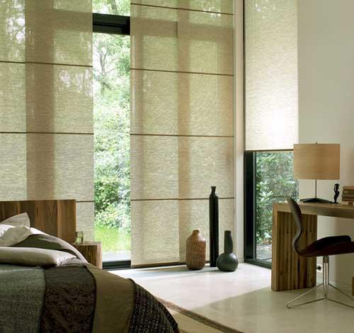 paneles japoneses dormitorios