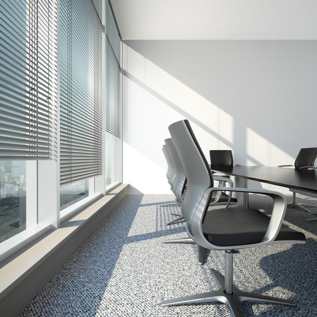 persianas de oficina