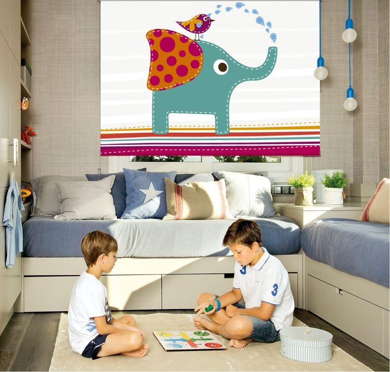cortinaje infantil