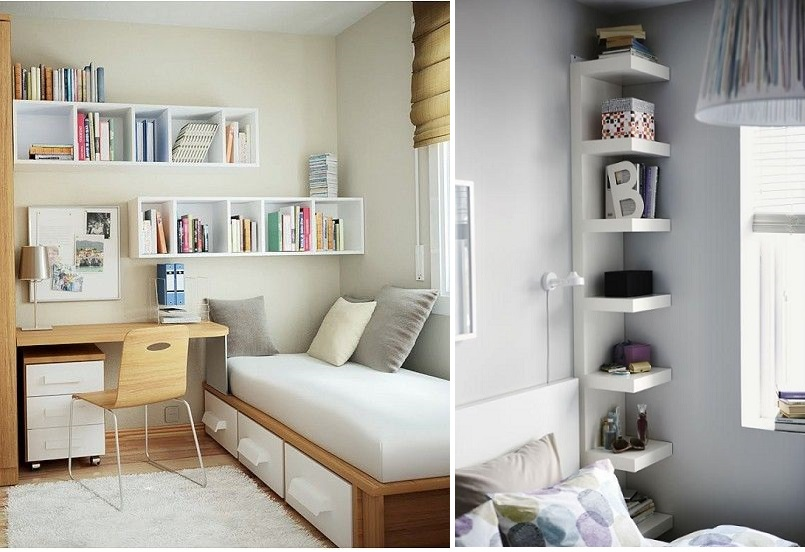 Tips y estores para decorar habitaciones peque as el blog de - Habitaciones pequenas decoracion ...