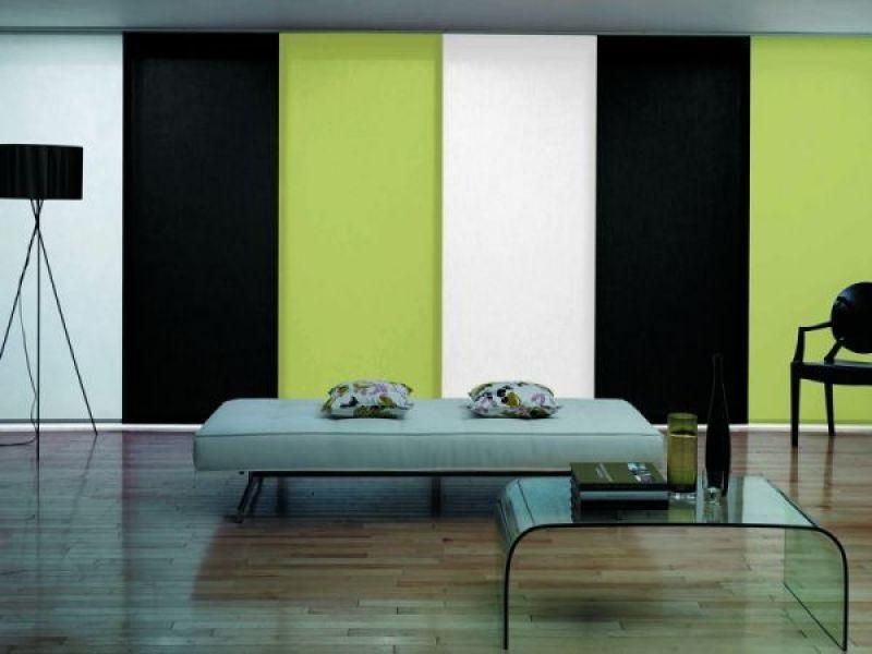 paneles japoneses de colores