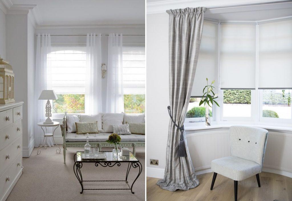cortinas con estores