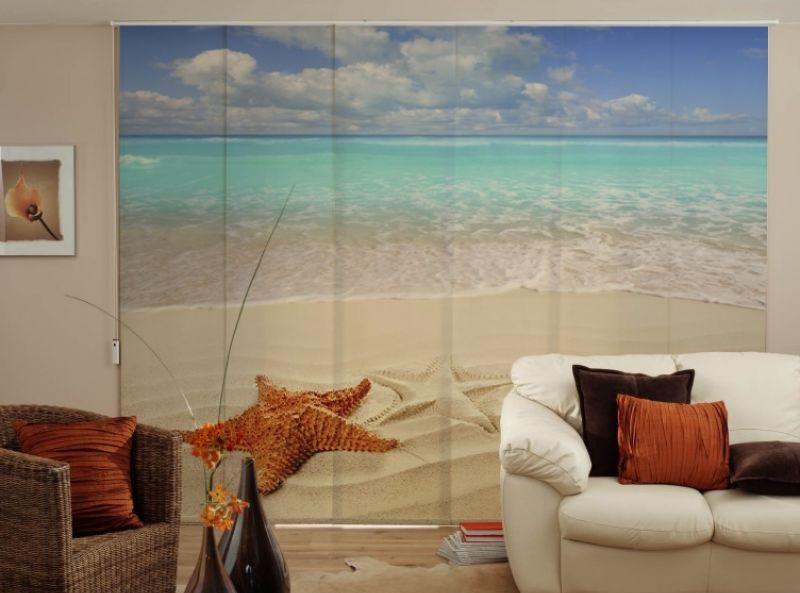 cortinas de paneles japoneses