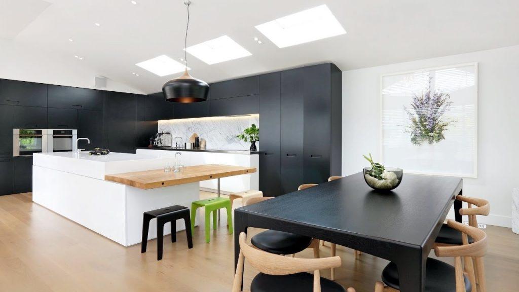 cortinas cocinas modernas
