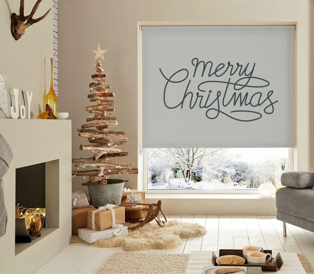 estores de invierno navidad
