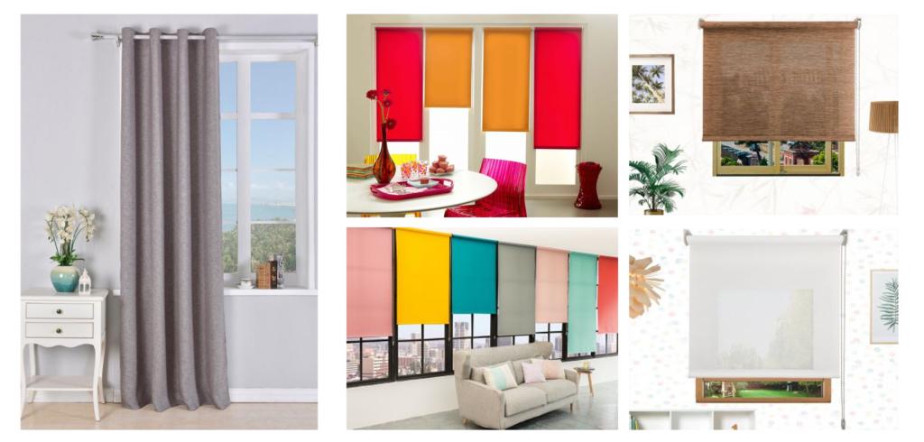 Escoge el color de tus cortinas