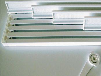 Rieles para paneles japoneses - Riel panel japones ikea ...