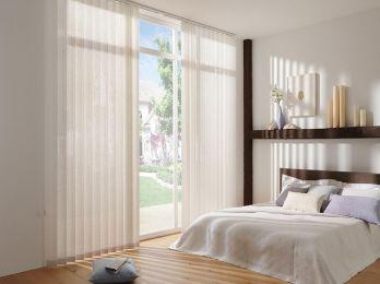 Cortina vertical Eco Screen fibra de vidrio / Varias Transparencias