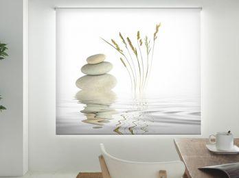 Enrollables impresos básicos cocina Zen