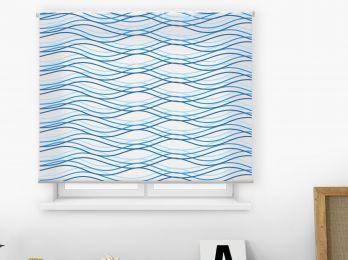 Estores impresión digital estilo abstracto